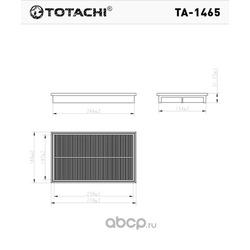 Воздушный фильтр (TOTACHI) TA1465