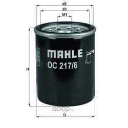 Масляный фильтр (Mahle/Knecht) OC2176