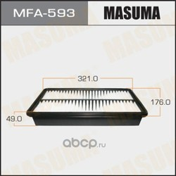Фильтр воздушный (Masuma) MFA593