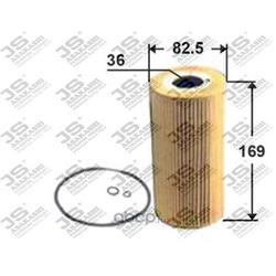 Фильтр масляный элемент (JS Asakashi) OE0016
