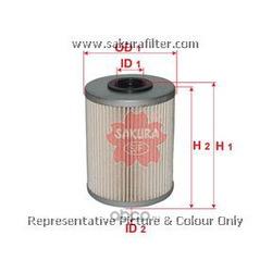 Фильтр топливный элемент (Sakura) F10191