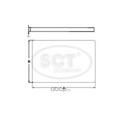 Салонный фильтр (SCT) SA1215