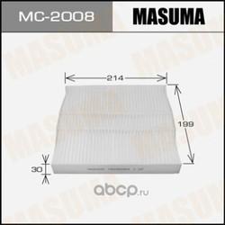 Фильтр салонный (Masuma) MC2008