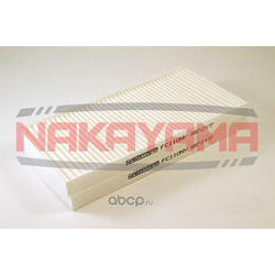Фильтр салона комплект KIA SORENTO 3.3/2.5CRDI 06- (NAKAYAMA) FC110NY