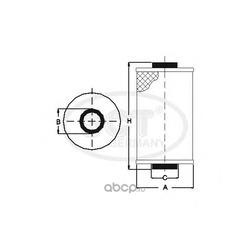 Масляный фильтр (SCT) SH4793P