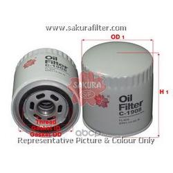 Фильтр масляный (Sakura) C1908