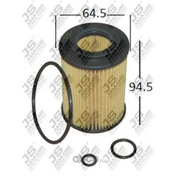 Фильтр масляный элемент (JS Asakashi) OE0080
