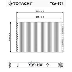Фильтр салона (TOTACHI) TCA574