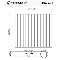 Фильтр салона (TOTACHI) TCA431