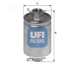 Топливный фильтр (UFI) 3156400