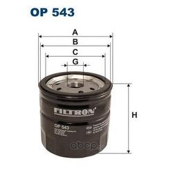 Фильтр масляный Filtron (Filtron) OP543