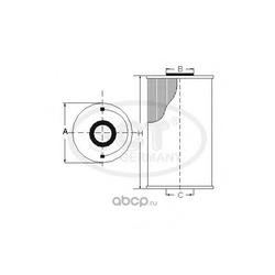 Фильтр топливный (SCT) SC7046