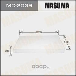 Фильтр салонный (Masuma) MC2039