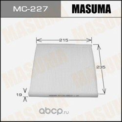 Фильтр салонный (Masuma) MC227