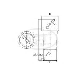 Топливный фильтр (SCT) ST362