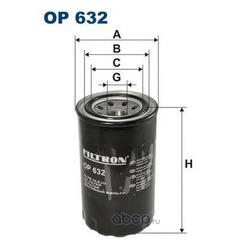 Фильтр масляный Filtron (Filtron) OP632