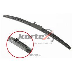 Щетка стеклоочистителя 600мм (гибридная) (KORTEX) KP600H