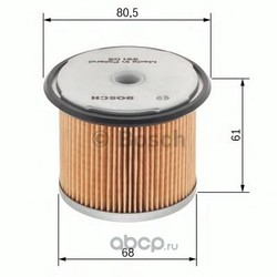 Топливный фильтр (Bosch) 1457429291