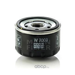 Масляный фильтр (MANN-FILTER) W7003
