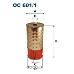 Фильтр масляный Filtron (Filtron) OC6011