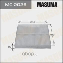 Фильтр салонный (Masuma) MC2026
