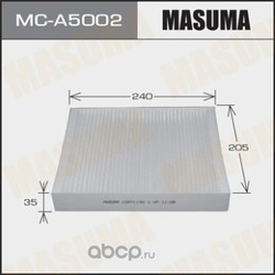 Фильтр салонный (Masuma) MCA5002