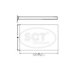 Фильтр салона (SCT) SA1101