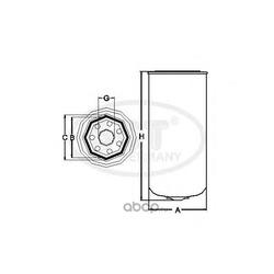 Топливный фильтр (SCT) ST323