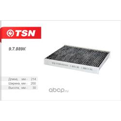Фильтр салона угольный (TSN) 97889K