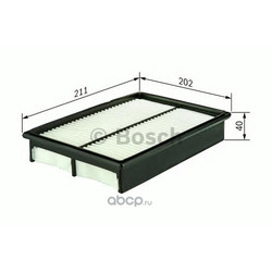 Воздушный фильтр (Bosch) 1457433963