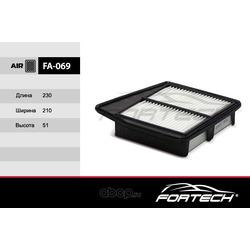 Фильтр воздушный (Fortech) FA069