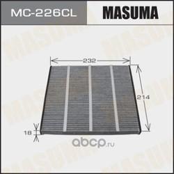 Фильтр салонный (Masuma) MC226CL
