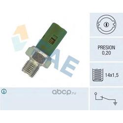 Датчик давления масла (FAE) 12630