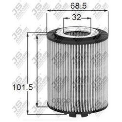 Фильтр масляный элемент (JS Asakashi) OE0044