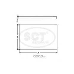 Фильтр салона (SCT) SA1212