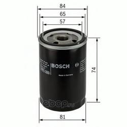 Масляный фильтр (Bosch) 0986452016
