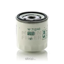 Масляный фильтр (MANN-FILTER) W71243