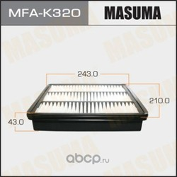 Фильтр воздушный (Masuma) MFAK320