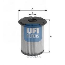 Топливный фильтр (UFI) 2669600