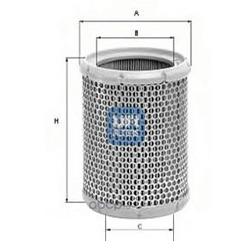 Воздушный фильтр (UFI) 2726700