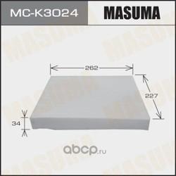 Фильтр салонный (Masuma) MCK3024