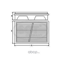 Воздушный фильтр (SCT) SB2190