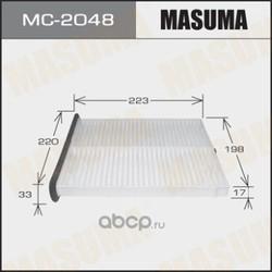 Фильтр салонный (Masuma) MC2048