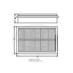 Воздушный фильтр (SCT) SB2195