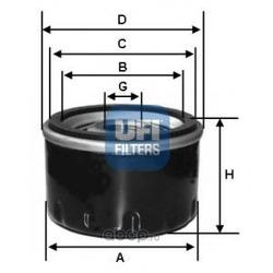 Масляный фильтр (UFI) 2317700