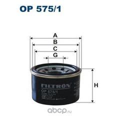 Фильтр масляный Filtron (Filtron) OP5751