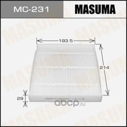 Фильтр салонный (Masuma) MC231E
