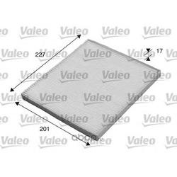Фильтр, воздух во внутренном пространстве (Valeo) 715521