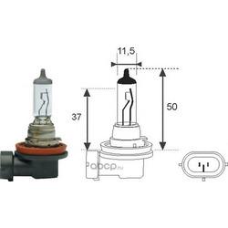 Лампа накаливания, фара дальнего света (MAGNETI MARELLI) 002549100000