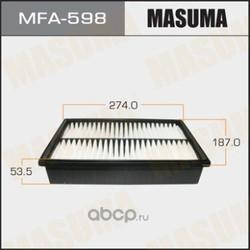 Фильтр воздушный (Masuma) MFA598
